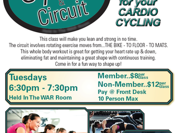 NEW! Cycle & Circuit Class!