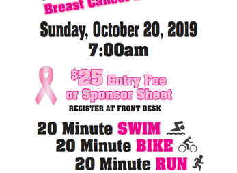DAC's 9th Annual Indoor Tri for Breast Cancer Research