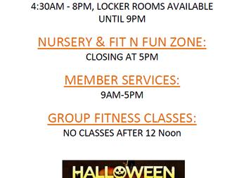 DAC's Halloween Hours: