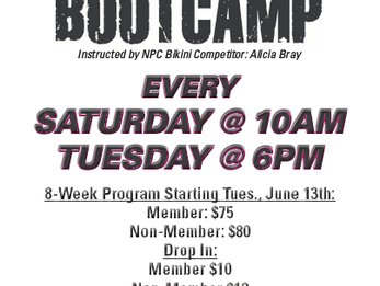 Ladies Bootcamp!