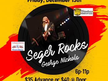 Bob Seger Tribute Dinner Show (December 15th)