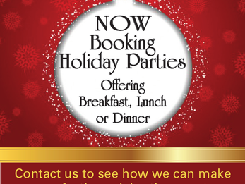 Book your Holiday Party at DCC Now!