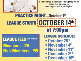 DAC Wallyball League Forming for Fall