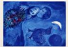 Chagall Le paysage bleu