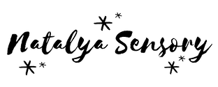 'Natalya Sensory' in cursive text with stars