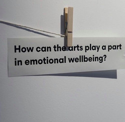 How can the arts play a part in emotiona