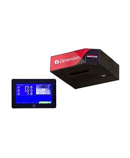 iDimension Plus XL conveyor mount scale