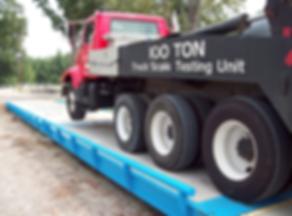 Truck Scale Calibration