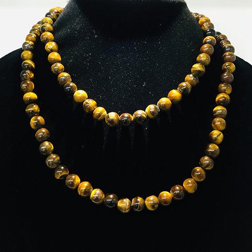 Tiger Eye Beads Mala