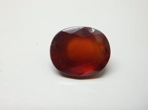 Natural Hessonite- Gomed 7.58  Ratti Gemstone