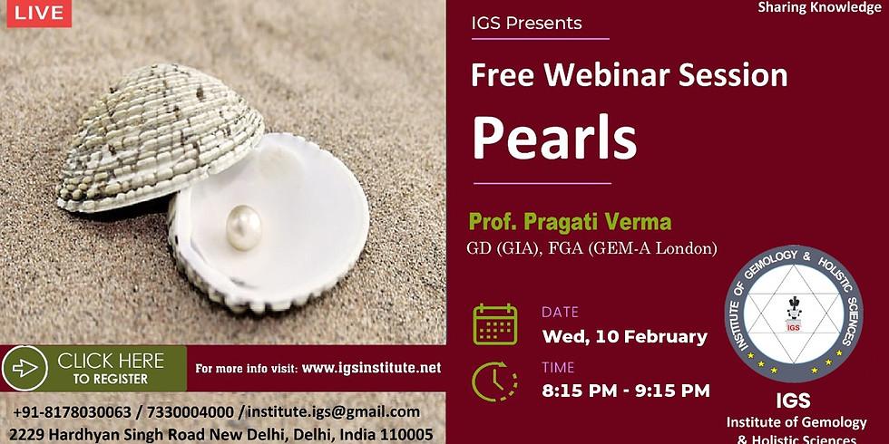 Pearl - A Free Seminar By Pragati Verma