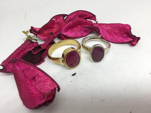 Manik - Ruby Ring