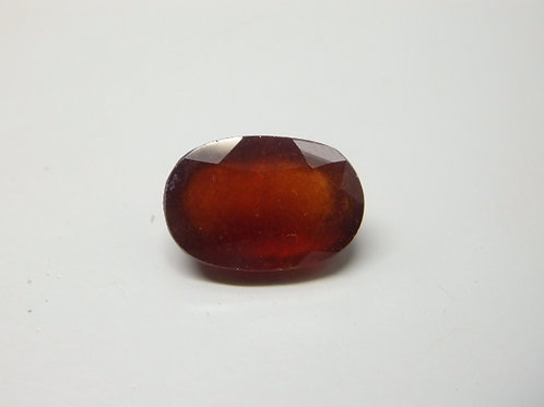Natural Hessonite- Gomed 7 Ratti Gemstone