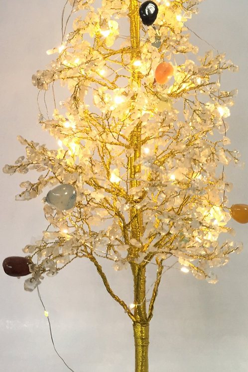 Clear Quartz Tree With Crystal Balancing