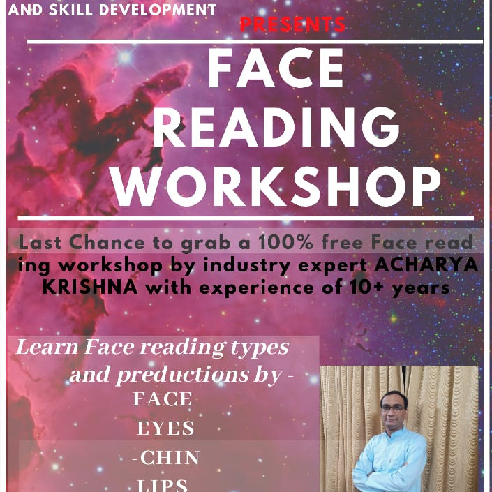 Last Chance to Learn Face Reading by Acharya Krishna