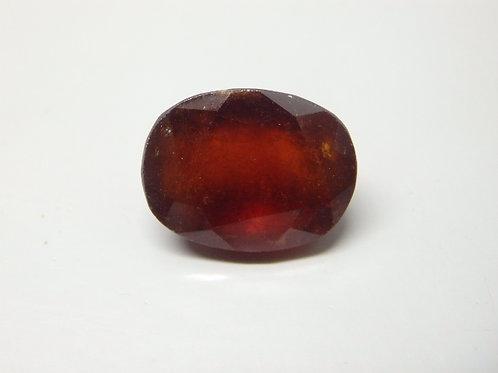 Natural Hessonite- Gomed 12.44  Ratti Gemstone