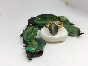 Cat's Eye - Lehsunia Ring
