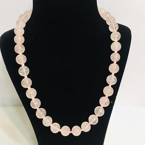 Rose Quartz Beads Mala