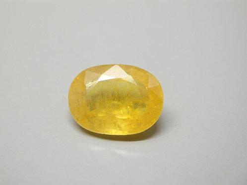 Natural Yellow Sapphire - Pukhraj 7.25 Ratti
