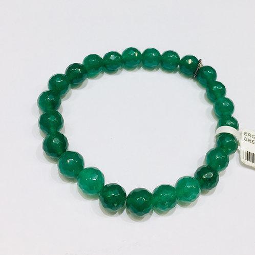 Natural Undied Green jade Bracelet