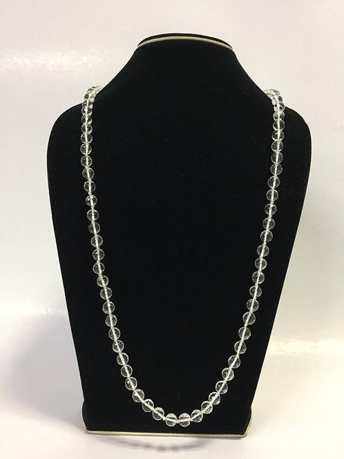 Clear Quartz Beads Mala