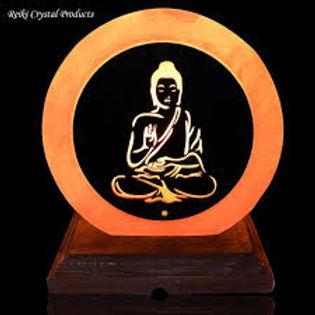 Natural Himalayan Buddha Salt Lamp