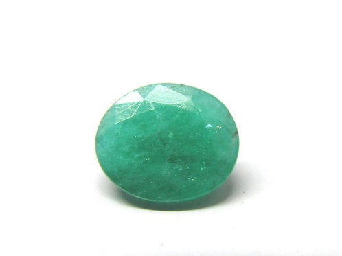 Certified Emerald - Panna 5.25Ratti  Natural Gemston