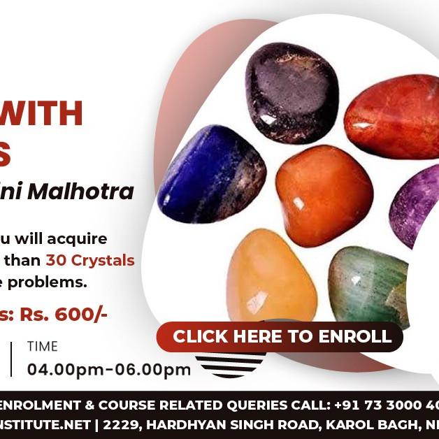 Healing with Crystals By Shalini Malhotra