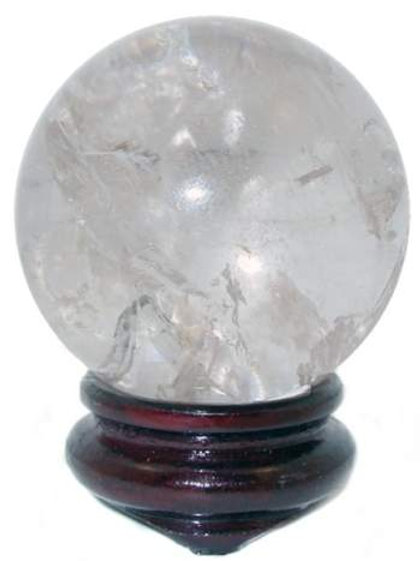 Clear Quartz Ball
