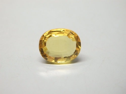 Natural Yellow Sapphire - Pukhraj 2.00 Ratti