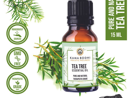 Glow more with tea tree oil.