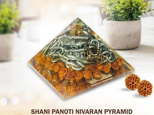 Shani Panoti Yantra Pyramid