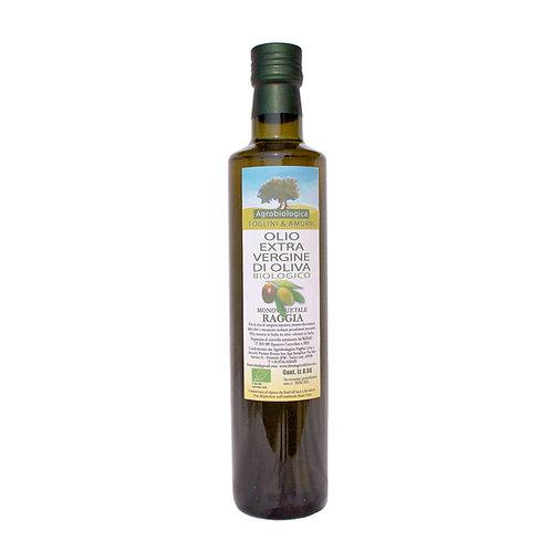 Olio EVO Monovarietale RAGGIA - Bottiglia 0,75 lt