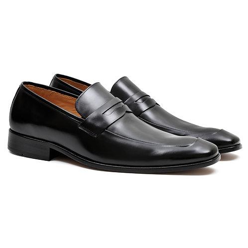 Sapato Masculino Loafer Milão Solado Couro