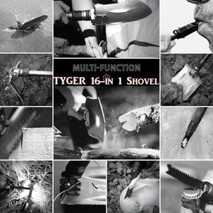TYGER 16-in-1 Shovel