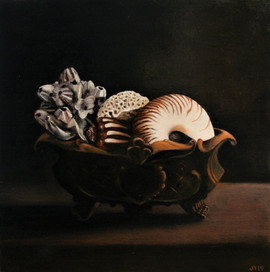 JO YOUNG - STILL LIFE: CAST IRON AND SHELL