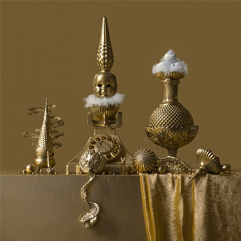 Still Life in Gold with Miss Call