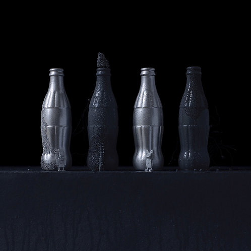 Still Life in Wet with Andy's Cokes