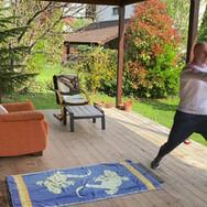 Karate fekvőtámasszal