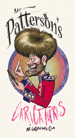 Mr Patterson's caricatures