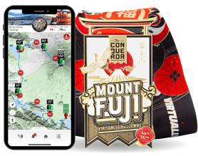 Climb Mount Fuji - Virtual Challenge