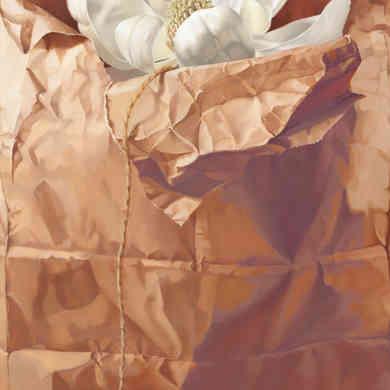 Magnolia in Brown Paper Sack
