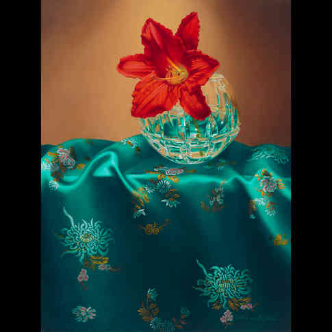 Daylily and Silk