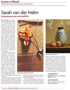 SouthWestArt | Sarah van der Helm | Contemporary Artist to Watch