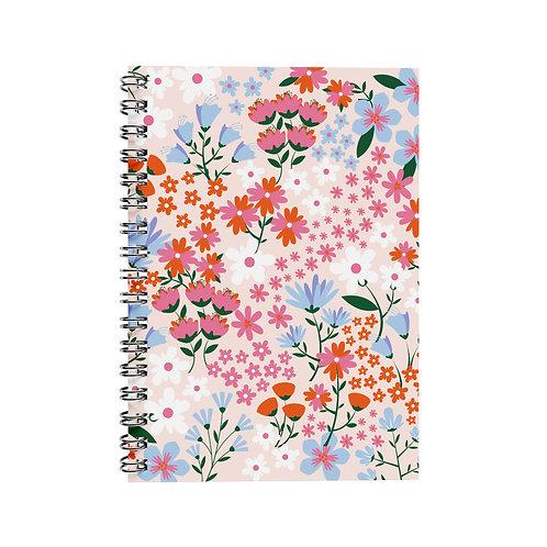 Notebook - Flowers Pink