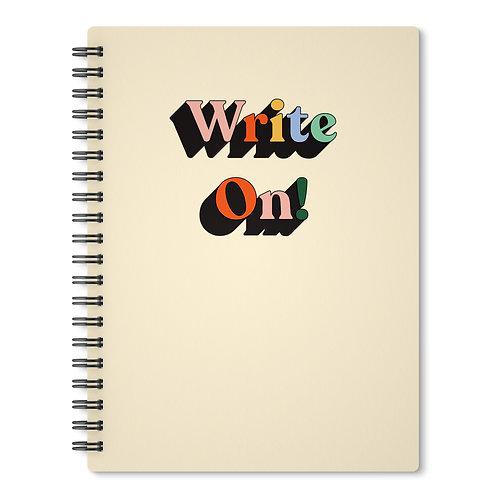 Notebook - Write On