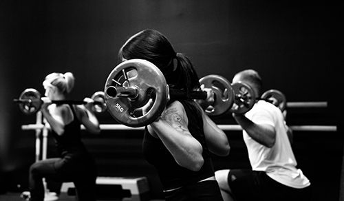 FUNCTIONAL FITNESS GROUP CLASS