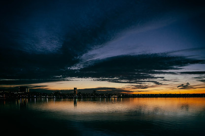 Geelong after Sunset #1