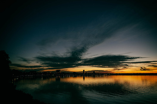 Geelong after Sunset #4