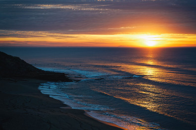 Sunrise over Winkipop #2